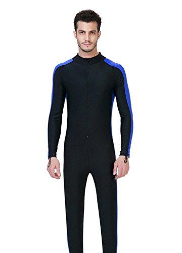 OUO Herren blau 3XL UV-Anzug UPF>50 Schutz swetsuit Schwimmanzug Overall Watersport