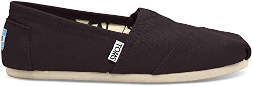 TOMS Men's Classic Canvas Slip-On (9.5, Black)