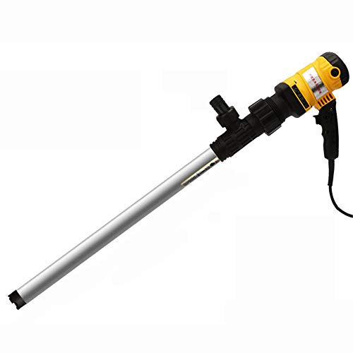 ZMXZMQ Elektrische Fasspumpe, Mehrzweck-Flüssigkeitstransferpumpe, Kraftstoffförderpumpe Für Benzin, 80-150 L/Min,600w
