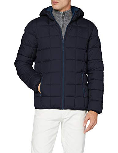 Wrangler Mens The Puffer Jacket, Dark Navy, XL