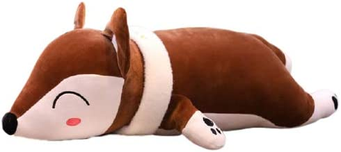 Kruti Cute Lovely Fox Pillow 70cm New product Soft Toys Max 72% OFF Brown