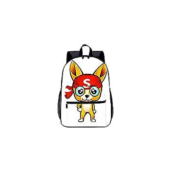 3D Printed Backpack Cute Dog Traveling Backpack Shoulder Bag School Bag Boy Girl Large Travel Laptop Shoulder Bag