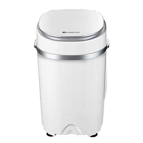 2-in-1 Portable Washing Machine Washer And Spin Dryer For Camping Dorms...