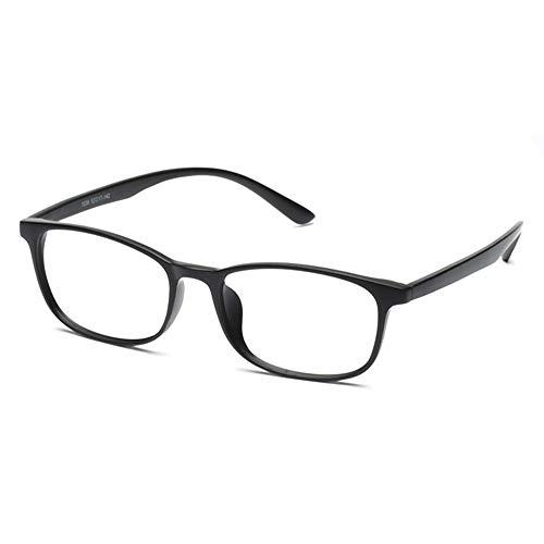 CAOXN Gafas De Lectura Multifocales De Fotograma Completo TR90 para Mujer Gafas De Sol Polarizadas Fotocromáticas De Alta Definición para Exteriores Óptica,Matte Black,+3.00