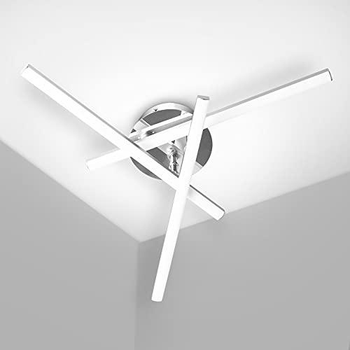 Kingwen 18W Lampada da Soffitto LED, 2000lm 5500K dal Design a triangolo Plafoniera a...