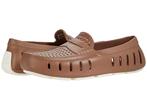 Floafers Country Club Driver Men's Water Shoes, Functional and Stylish EVA Foam, Waterproof, Lightweight, Sectional Traction, Comfortable, Classy Anti-Slip Indoor and Outdoor Shoes, Floats on Water