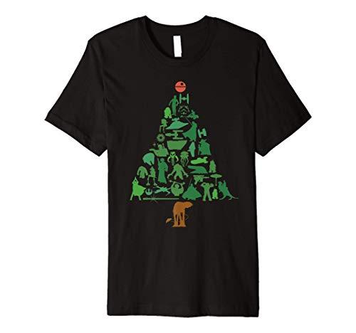Star Wars Holiday Christmas Tree Premium T-Shirt