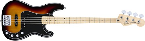 Fender Deluxe Active Precision Bass Special, Maple Fingerboard, 3 Color Sunburst