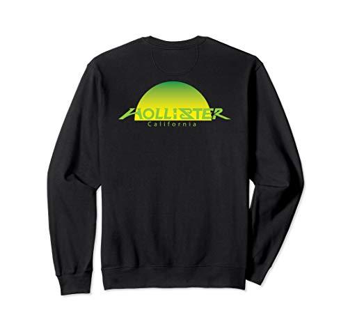HOLLISTER CA., HOLLISTER CA. SUNSET GREEN,BACK VIEW, GIFT Sweatshirt
