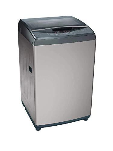 Bosch 7kg Fully Automatic Top Loading Washing Machine(WOE702D2IN, Dark Grey)