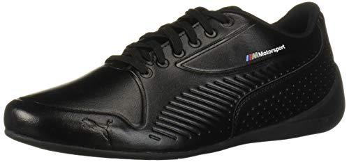 PUMA BMW MMS Drift CAT 7S Ultra Sneaker, Black White, 10.5 M US
