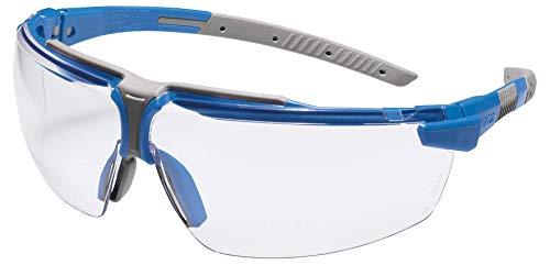 Uvex I-3 S Supravision Sapphire - Gafas de protección, color azul y gris