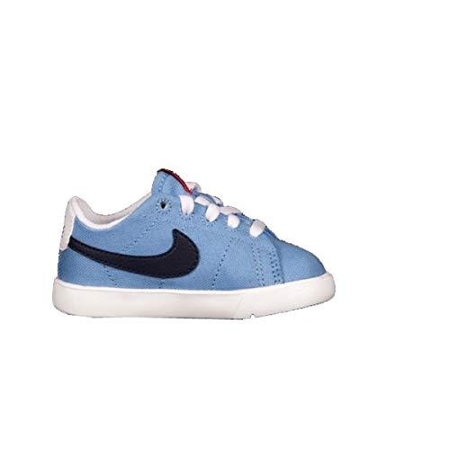 Nike Scarpe Blazer Low Basse Tessuto ESTIVE Azzurre - 28.5