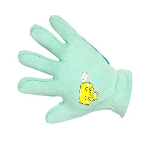 YUNGYE Netter Veloursleder-Silikon-Hundehaustier Deshedding Bürsten-Handschuh for Die Tierwolle, Die Katzen Kämmt Haustier-Haar-Handschuh Haustier-Pflegenhandschuh for Katzen-Kamm