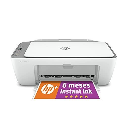 Impresora Multifunción HP DeskJet 2720e - 6 meses de impresión Instant Ink con HP+