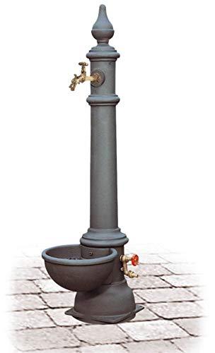 Fontana da Giardino con Rubinetto e Idrante in Ghisa Morelli Monachella