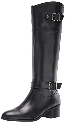 Bandolino Footwear Women's PRIES Knee High Boot, Black, 9 M US