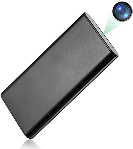 WiFi Hidden Camera Power Bank 10000mAh, 10 Feet Night Vision Distance,HD 1080P Nanny Cam Portable Charger,Remotely View Real-time Monitoring