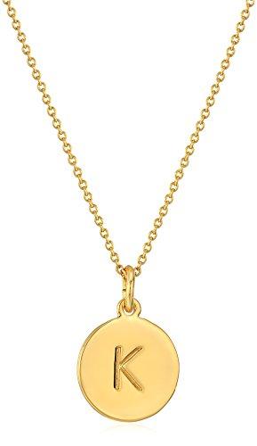 Kate Spade New York Kate Spade Pendants K Pendant Necklace Gold One Size