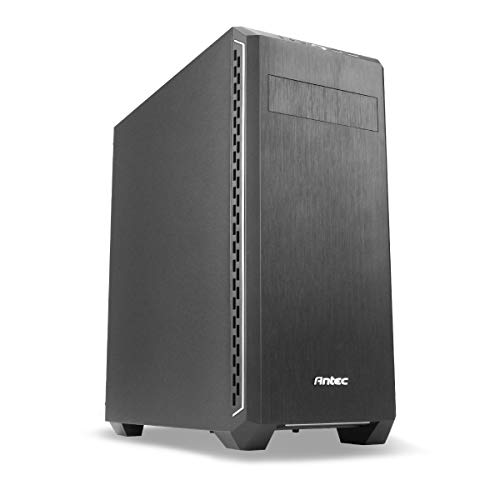 Antec P7 Silent Midi-Tower Black Computer Case – Computer Cases (Midi-Tower, PC, Plastic, SGCC, ATX, Micro-ATX, Mini-ITX, Black, 16.5 cm)