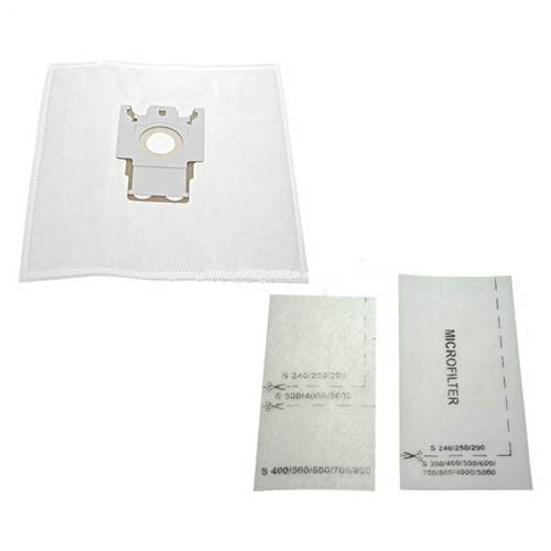 10 x Miele FJM Dustbags & Filters - Microfibre Bags with Cardboard Bag...