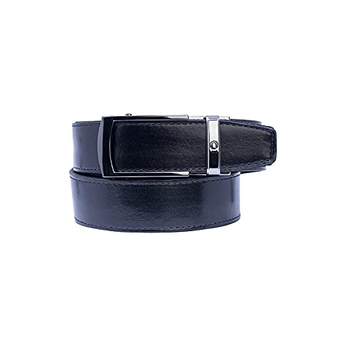 Nexbelt Ratchet Belt for Men - Tactical Bond Black CCW Leather EDC Gun Belt for Concealed Carry