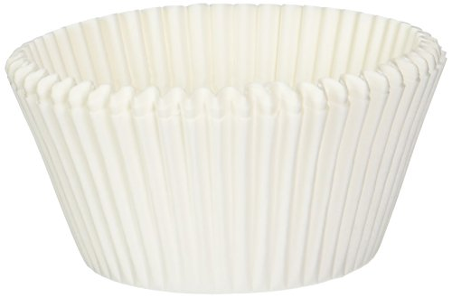 Norpro 3600B, White, Giant Muffin Cups, Pack of 500
