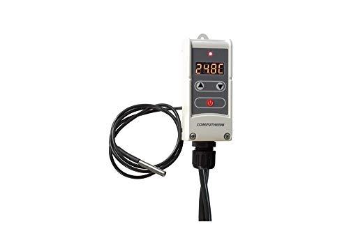 Tauchthermostat , COMPUTHERM WPR-100 GC , Pumpenregler mit verdrahten Temperatursensor