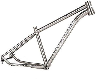 MAIKONG Cuadro de Bicicleta de montaña de aleación de Titanio ...