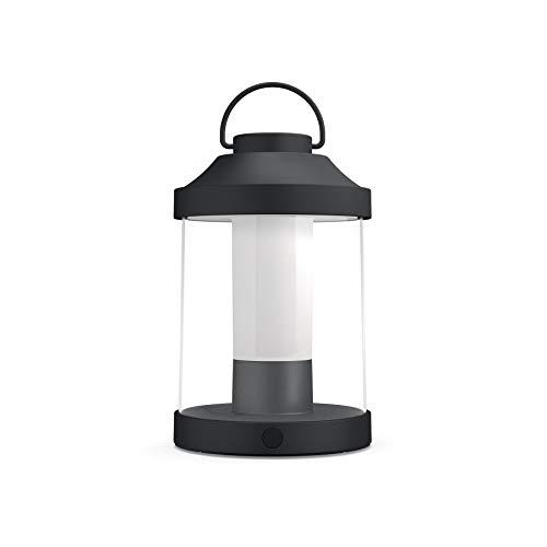 Philips Mygarden Abelia Farol LED Portátil, 3 W, Negro
