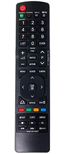 allimity AKB72915207 Ersetzen Fernbedienung passend für LG TV 37LD420 37LD450 42LD420 42LD450 42LD460 37LD465 47LD450 50PJ250 42SL9000 32LD350C 42LD420C 32LH202C 32LH250C