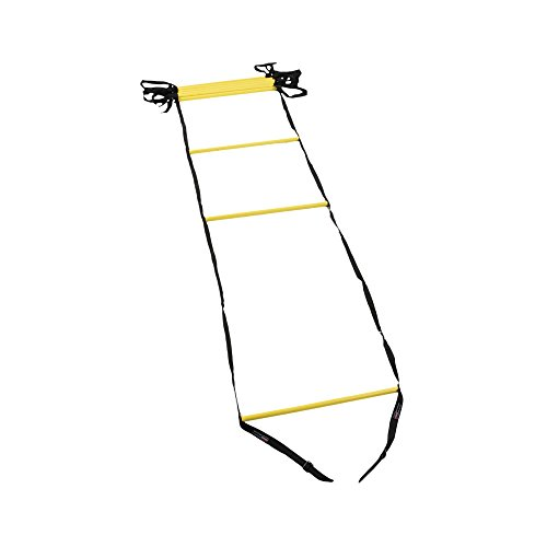 Power Systems Agility Ladder, 15 Feet x 20 Inches, Black/Yellow (30692)