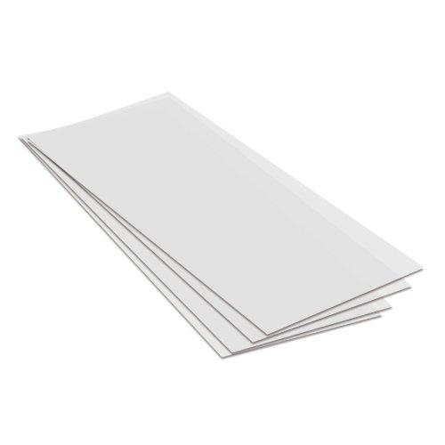 Transparentpapier Architektenpapier Zuschnitte, 20,5 x 51 cm, 115g/m², 25 Bg.