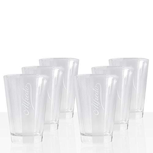 Alfredo Latte Macchiato Glas, 6 Stk