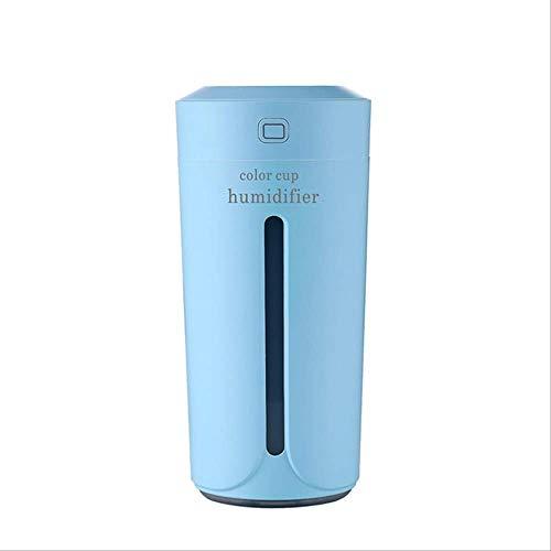 1111 Ozonizador Coche Ambientador Purificador De Aire USB con Lámpara Led Difusor De Aromaterapia Fabricante De Niebla para El Hogar Mini Auto Humidificadores De Automóviles Azul