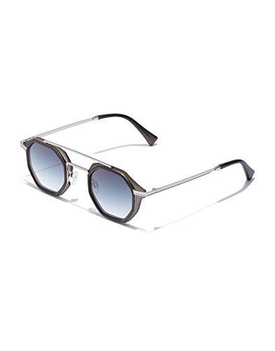 HAWKERS CITYBREAK Gafas de Sol, Negro/Azul, One Size Unisex Adulto