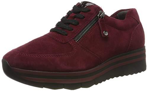 Tamaris Damen 1-1-23740-33 538 Sneaker, Rot (MERLOT SUEDE 538), 39 EU