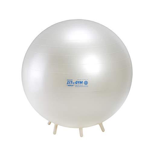 Gymnic Gymnastikball Platzfest für Heim und Büro - 55cm, 65cm, 75cm (bis 120kg Körpergewicht)