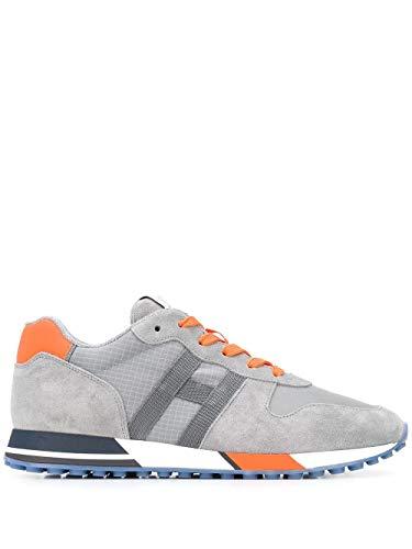 Hogan Luxury Fashion Herren HXM3830AN51N4X50C6 Grau Wildleder Sneakers   Ss21