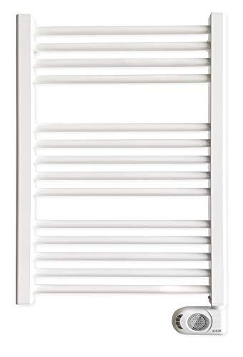 HJM NOOR 500 Porte-serviettes électrique, sèche-serviettes programmable, W, blanc