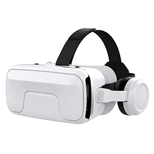 HLKYB VR Headsets, 3D Glasses, Virtual Reality Headsets with Built-in Headphones with 120 Degree FOV for iPhone X 8 7 6/6s plus, Samsung S6 S7 S8/Plus/Edge Note 8 [2019 Edition]