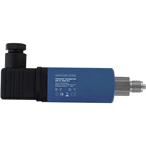 B & B Thermo-Technik Drucksensor 1 St. DRTR-AL-20MA-R6B 0 bar bis 6 bar (L x B x H) 120 x 30 x 30mm