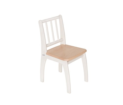 Geuther, Chaise enfant Bambino, assortie à l'ensemble de mobilier Bambino, Blanc/Naturel