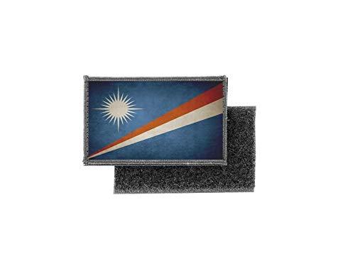 Aufnäher patch aufbügler vintage gedruckt flagge fahne marshallinseln marshall