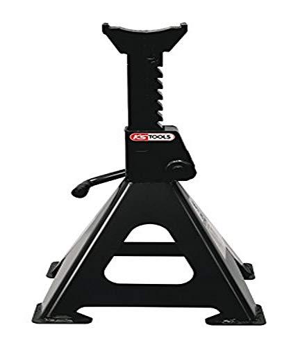 KS Tools 160.0370 Stahl-Unterstellbock mit Schnellverstellung, 3 t, paarweise