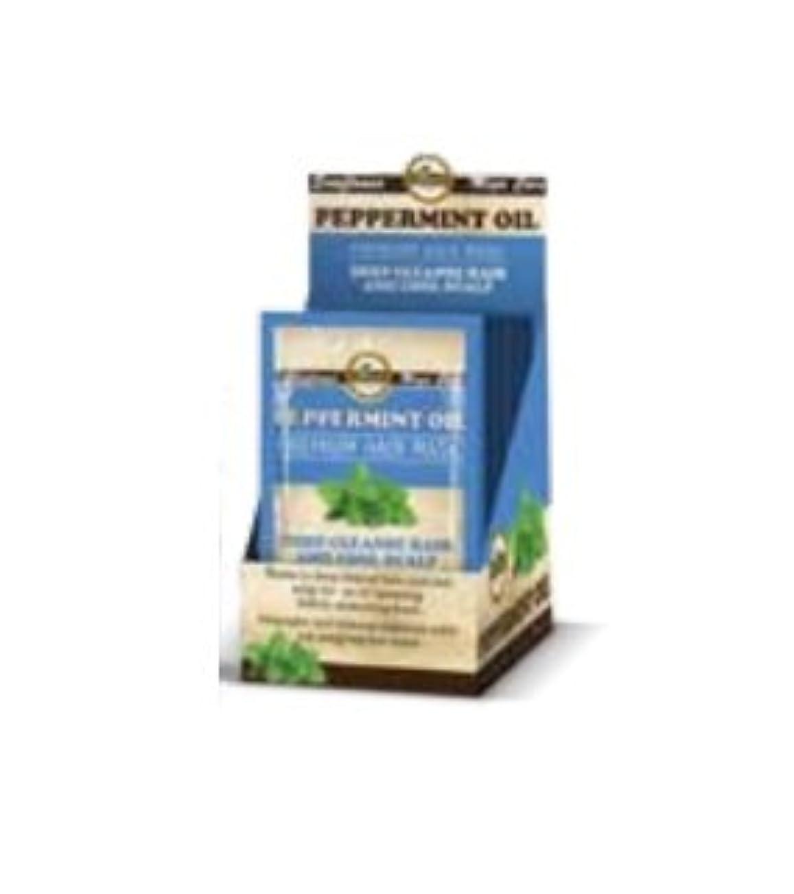フェロー諸島大聖堂不健康Difeel プレミアムヘアマスク - ペパーミントオイル50g(3パック)