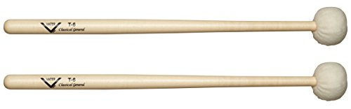 Vater T6 Timpani, Drumset & Cymbal Mallets, Pair