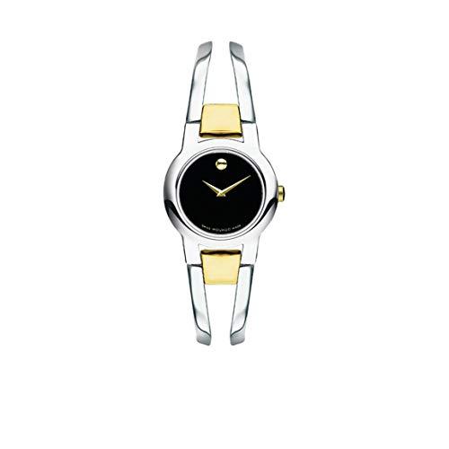 Movado Women's Amorosa 0606893 Silver Stainless-Steel Swiss Quartz Fashion Watch