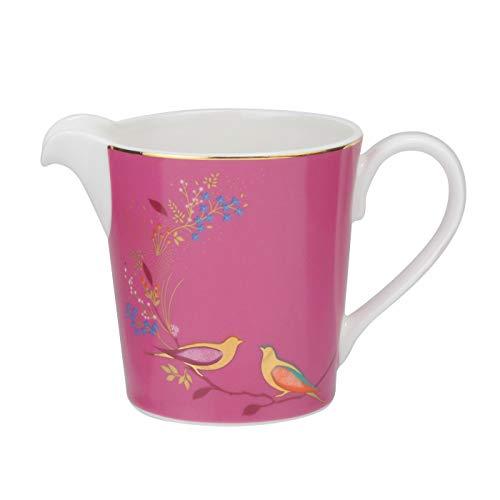 Portmeirion Home & Gifts Chelsea, pot à crème, céramique, rose, 165 x 125 x 95 cm