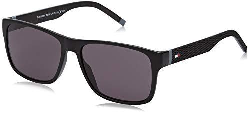 Tommy Hilfiger TH 1718/S gafas de sol, BlackGrey, 56 para Hombre